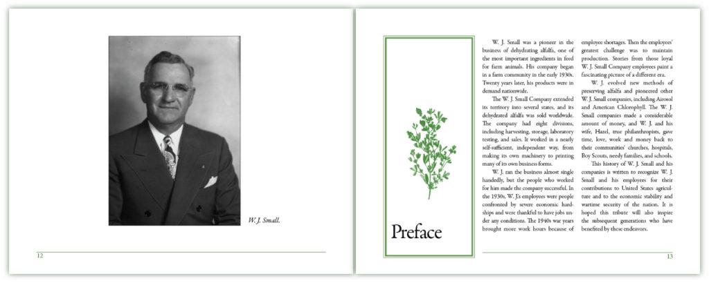 Dehydrating Alfalfa preface